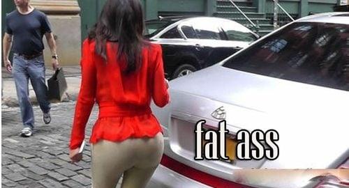 Kim Kardashian's Fat Ass Has Got Even Bigger