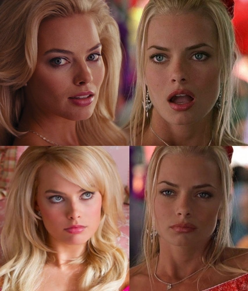 Margot Robbie And Jaime Pressly Are Nude Doppelgangers