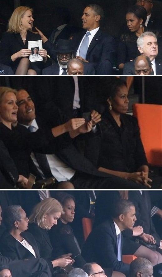 Obama Gets Cock Blocked At Mandela Memorial Service
