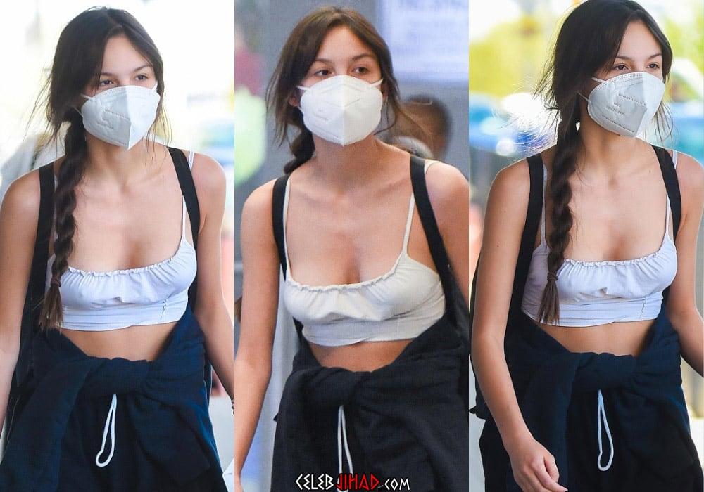 Olivia Rodrigo nipple pokies