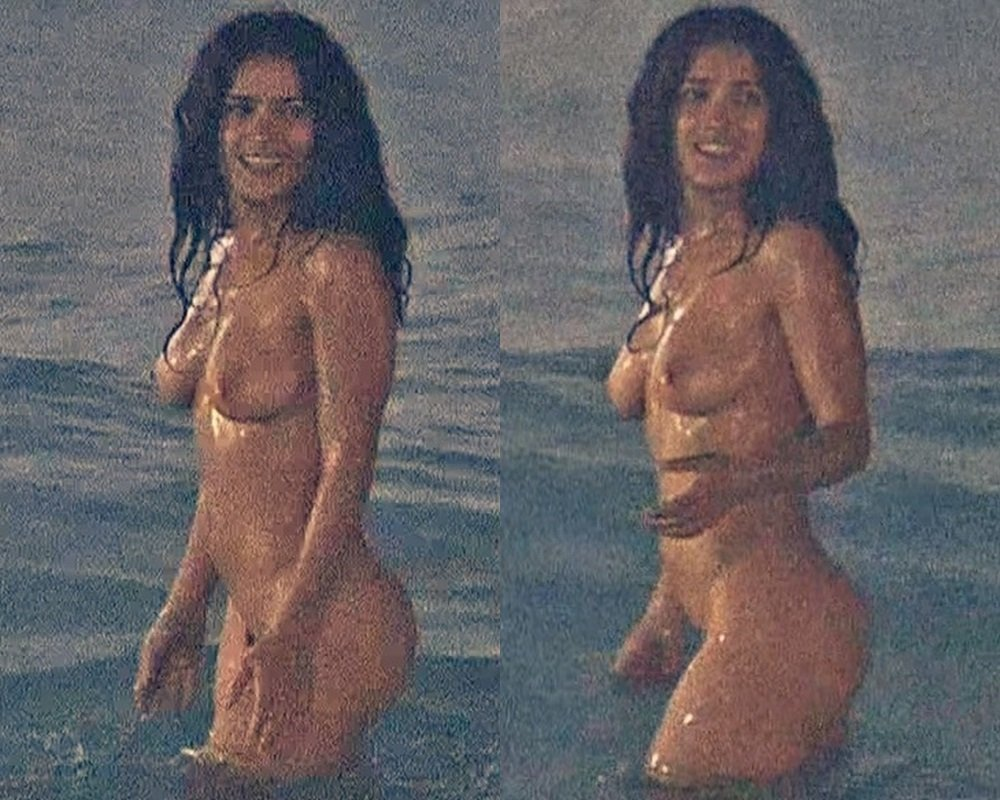 """Salma Hayek Nude Scene From """"Ask The Dusk"""" Color Corrected"""