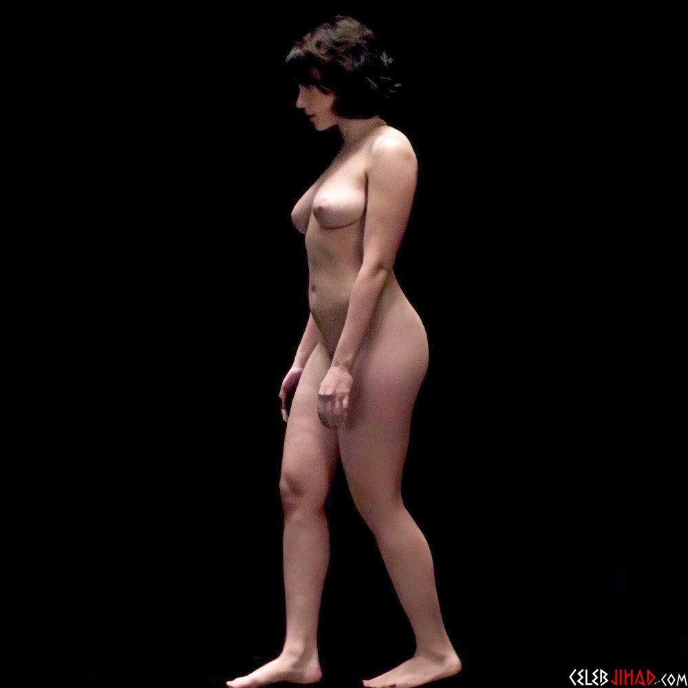 Scarlett Johansson Nude Side Profile In Ultra High Definition