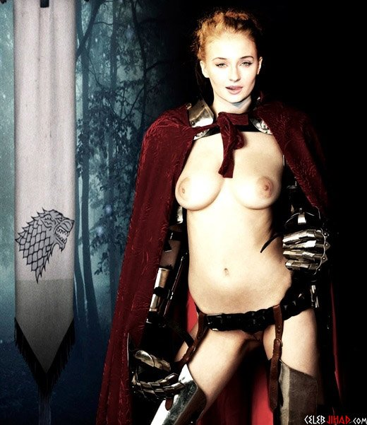 Sophie Turner Gets Naked Next Season On 'Game of Thrones'