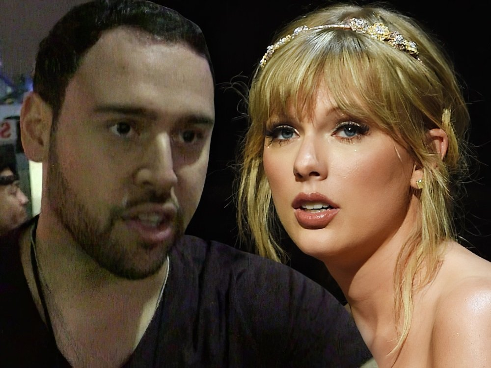 Taylor Swift Nude Sex Tape With Scooter Braun Released