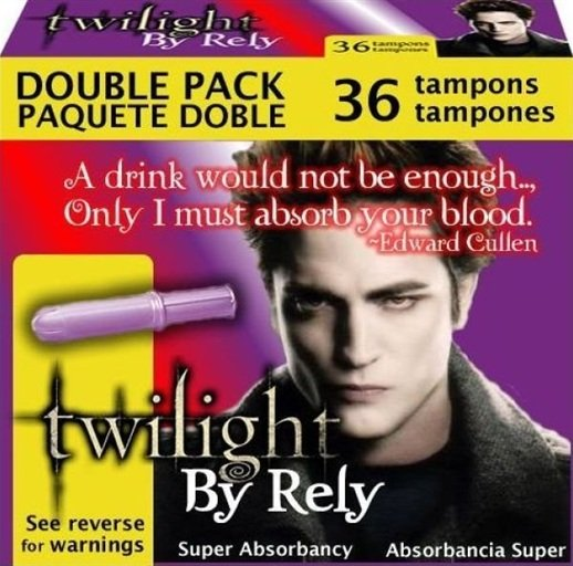 Twilight Launches Tampon Line