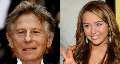 """Roman Polanski Requests """"Miley Cyrus Posters"""" For His Cell"""