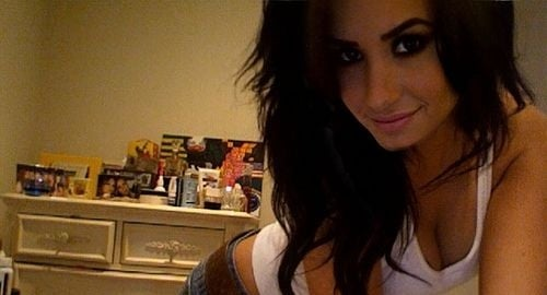 Demi Lovato Tries To Be Sexy