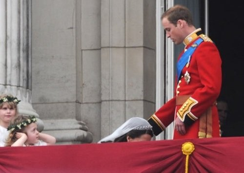 Kate Polishes Prince William's Royal Jewels