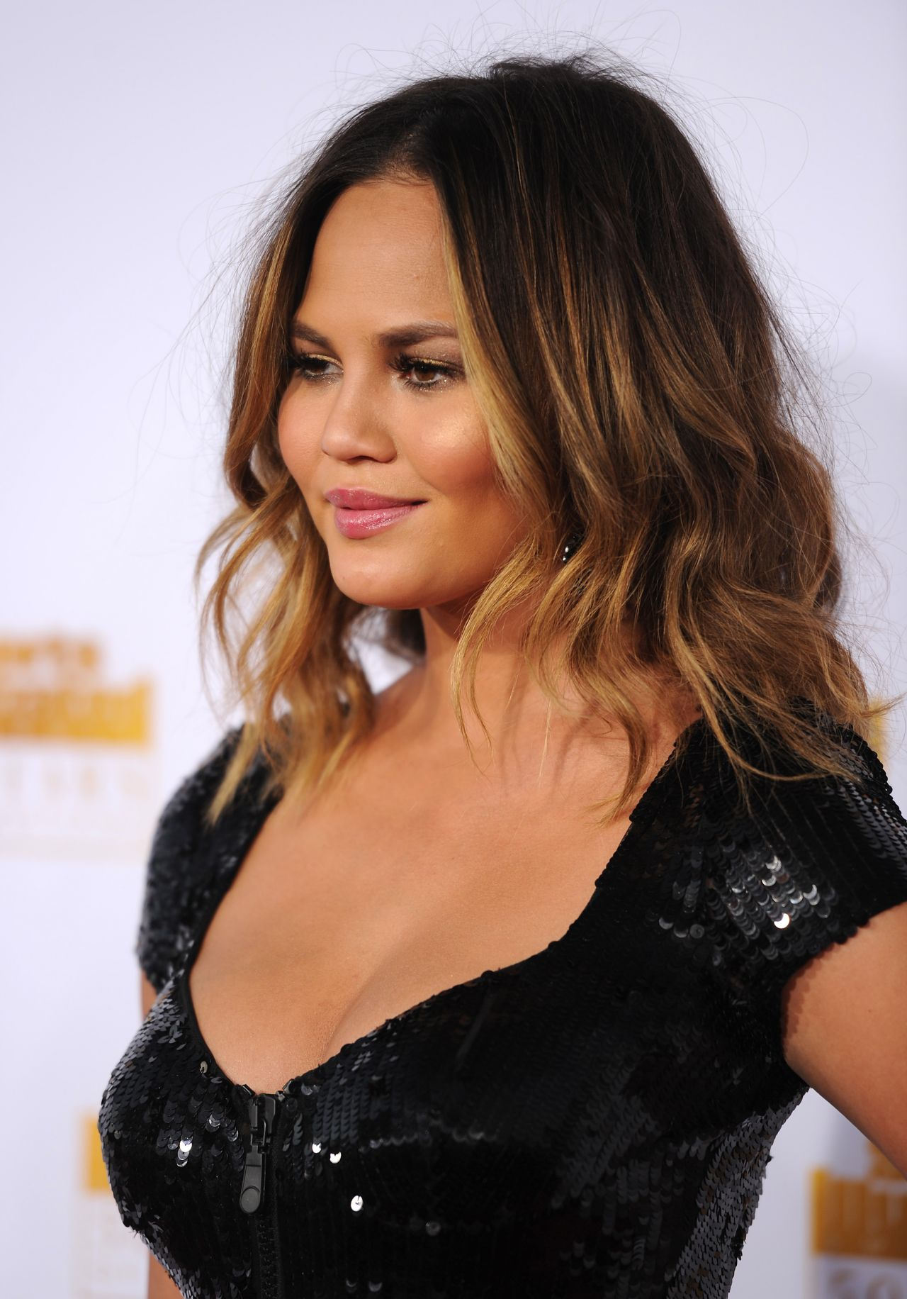Chrissy Teigen At 50th Anniversary Of The SI Swimsuit
