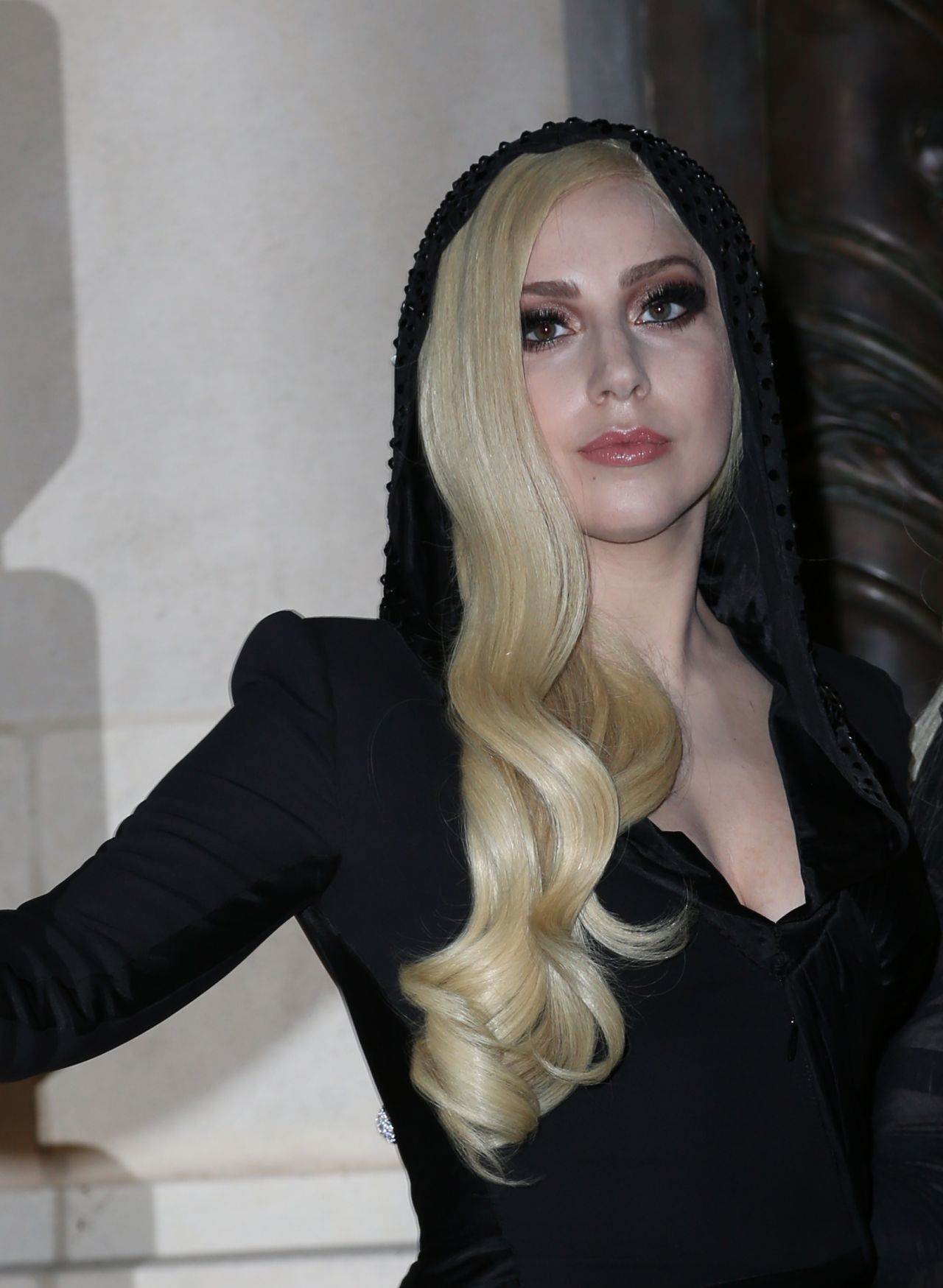Lady Gaga Versace Women S Fashion Show Paris January 2014