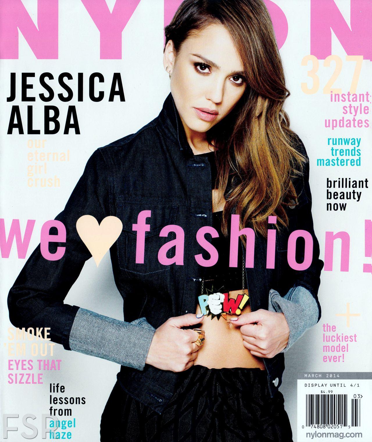 Jessica Alba - NYLONMAG