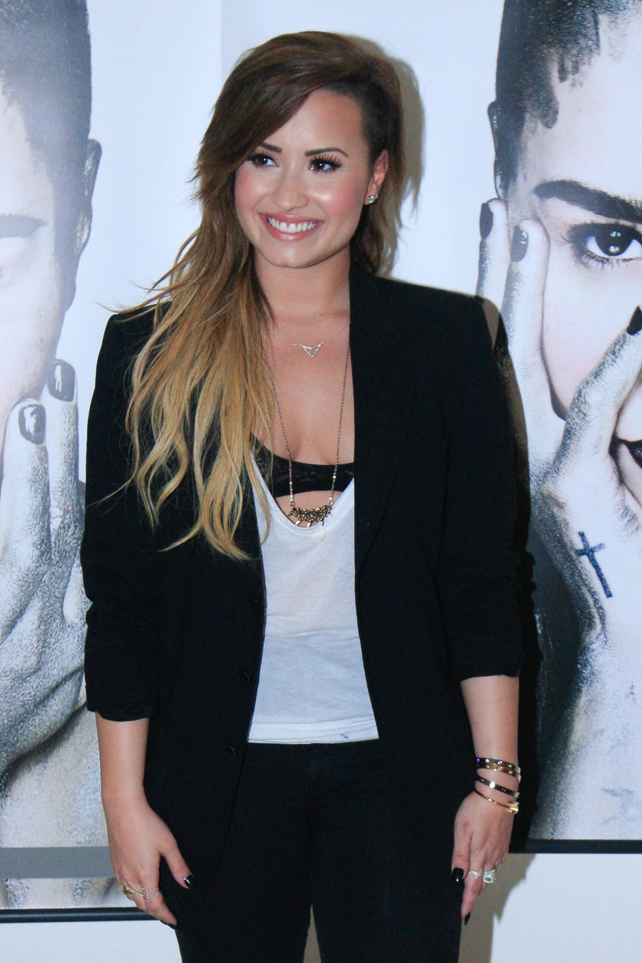Demi Lovato Promoting Her CD In Brazil April 2014