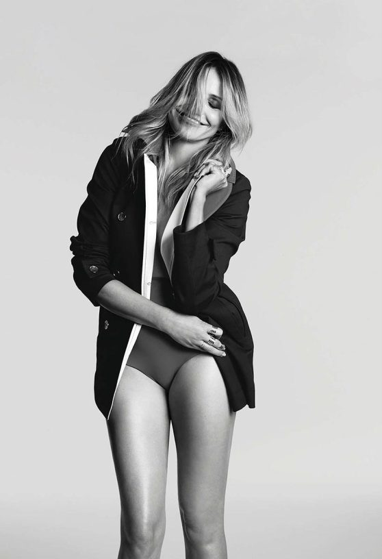 Cameron Diaz Photoshoot For Marie Claire Magazine USA