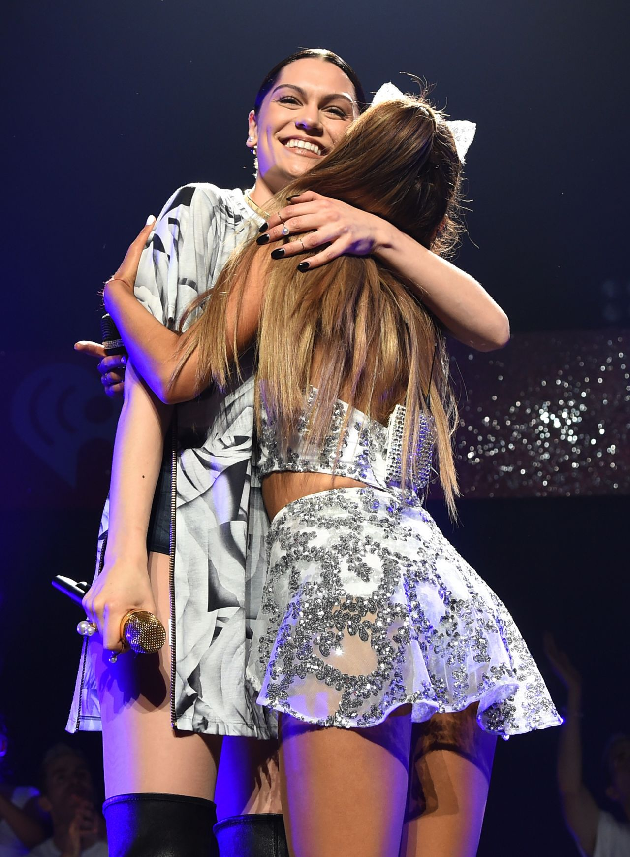 Ariana Grande Performs At HOT 995s Jingle Ball 2014 In