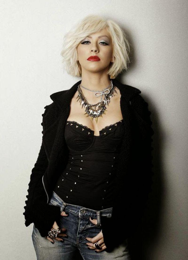 Christina Aguilera Leisure Latino Magazine Spain
