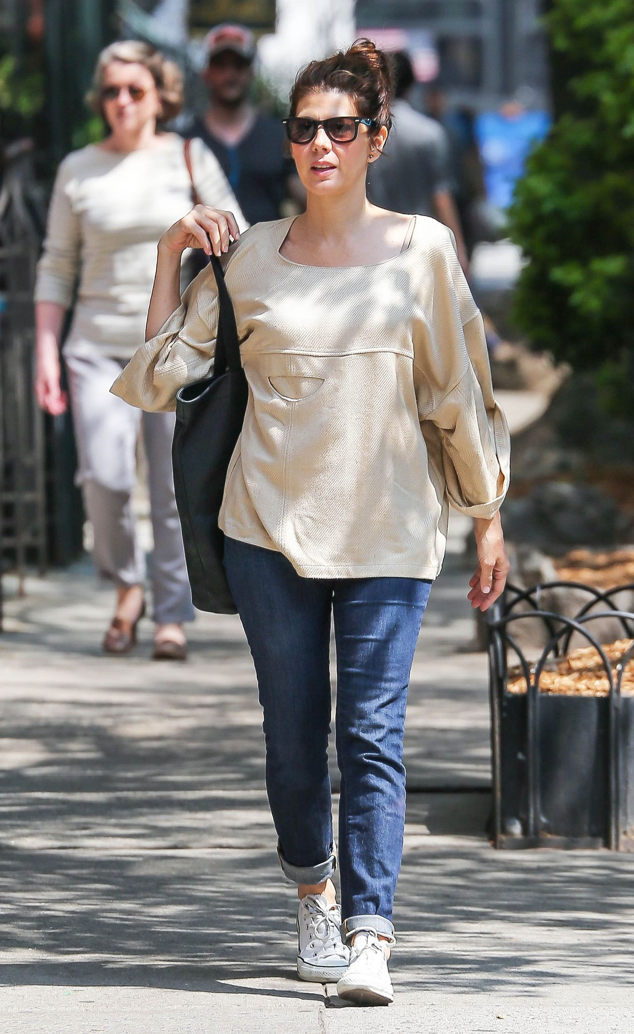 Marisa Tomei Out In New York City May 2015