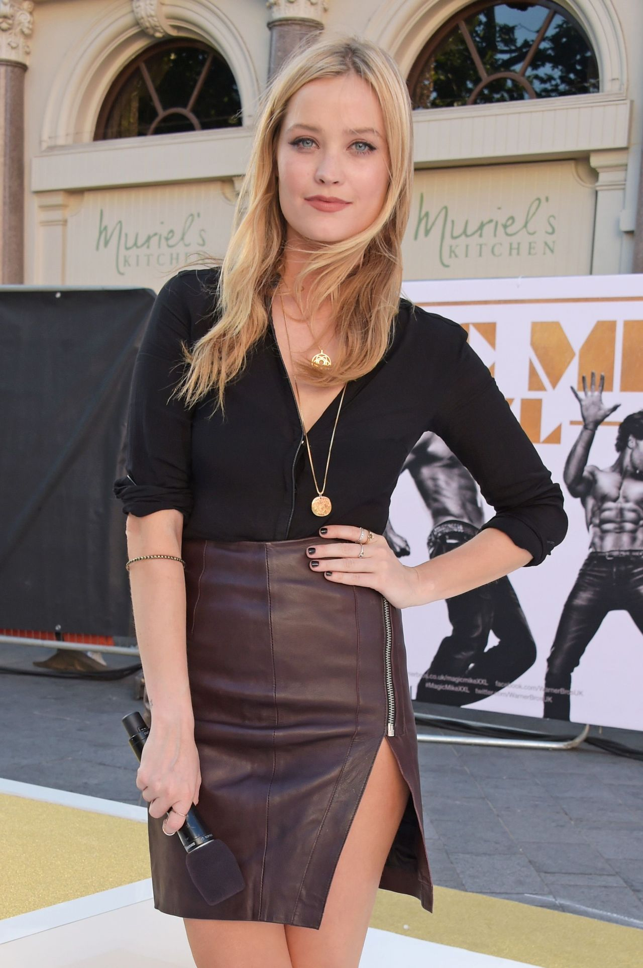 Laura Whitmore Hot Style Magic Mike XXL Premiere In London