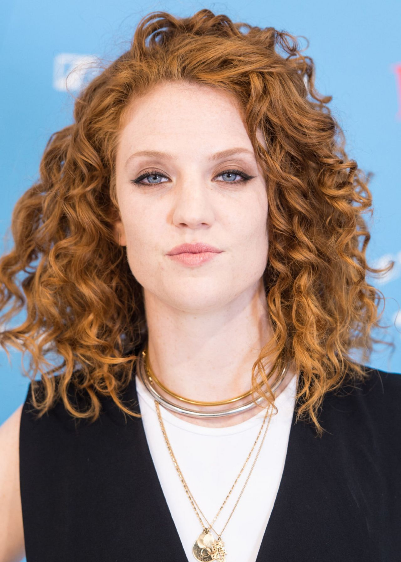 Jess Glynne Performs On Stage During A Launch For MUSIC CUBE