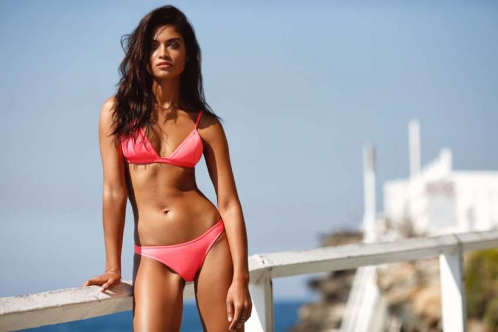 Shanina Shaik In Bikini Kookai Swim Collection 2016
