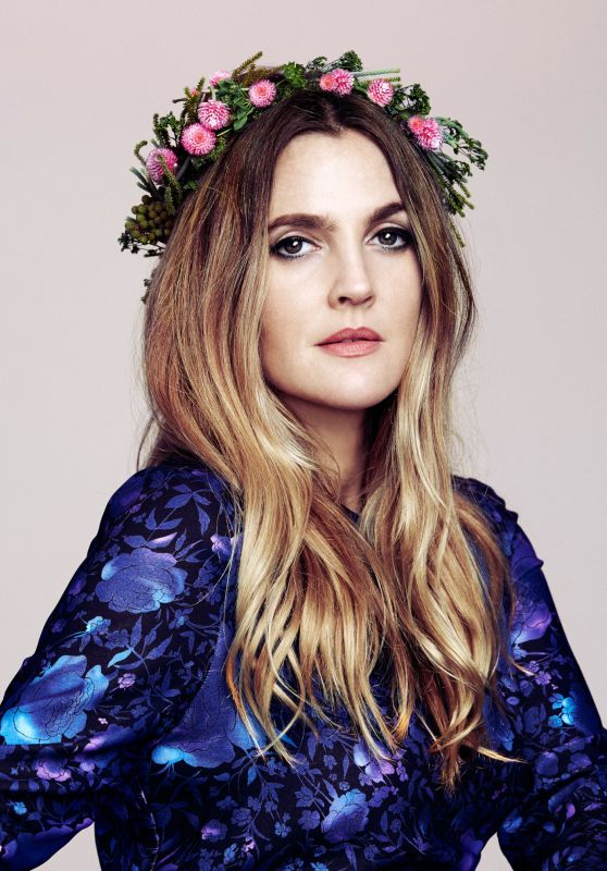 Drew Barrymore Photoshoot For The Guardian October 2015