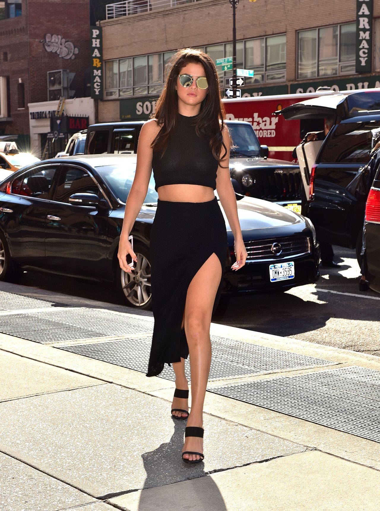 Selena Gomez Style NYC October 2015