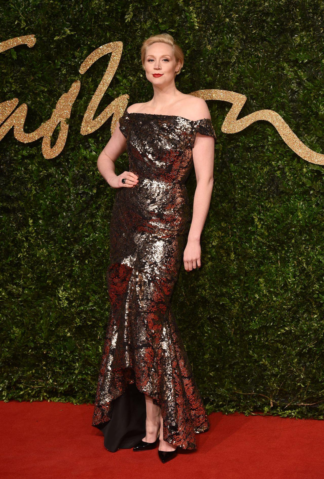 Gwendoline Christie British Fashion Awards 2015 In London