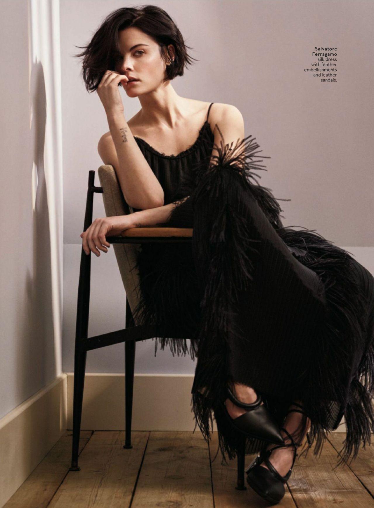 Jaimie Alexander InStyle Magazine US March 2016 Issue