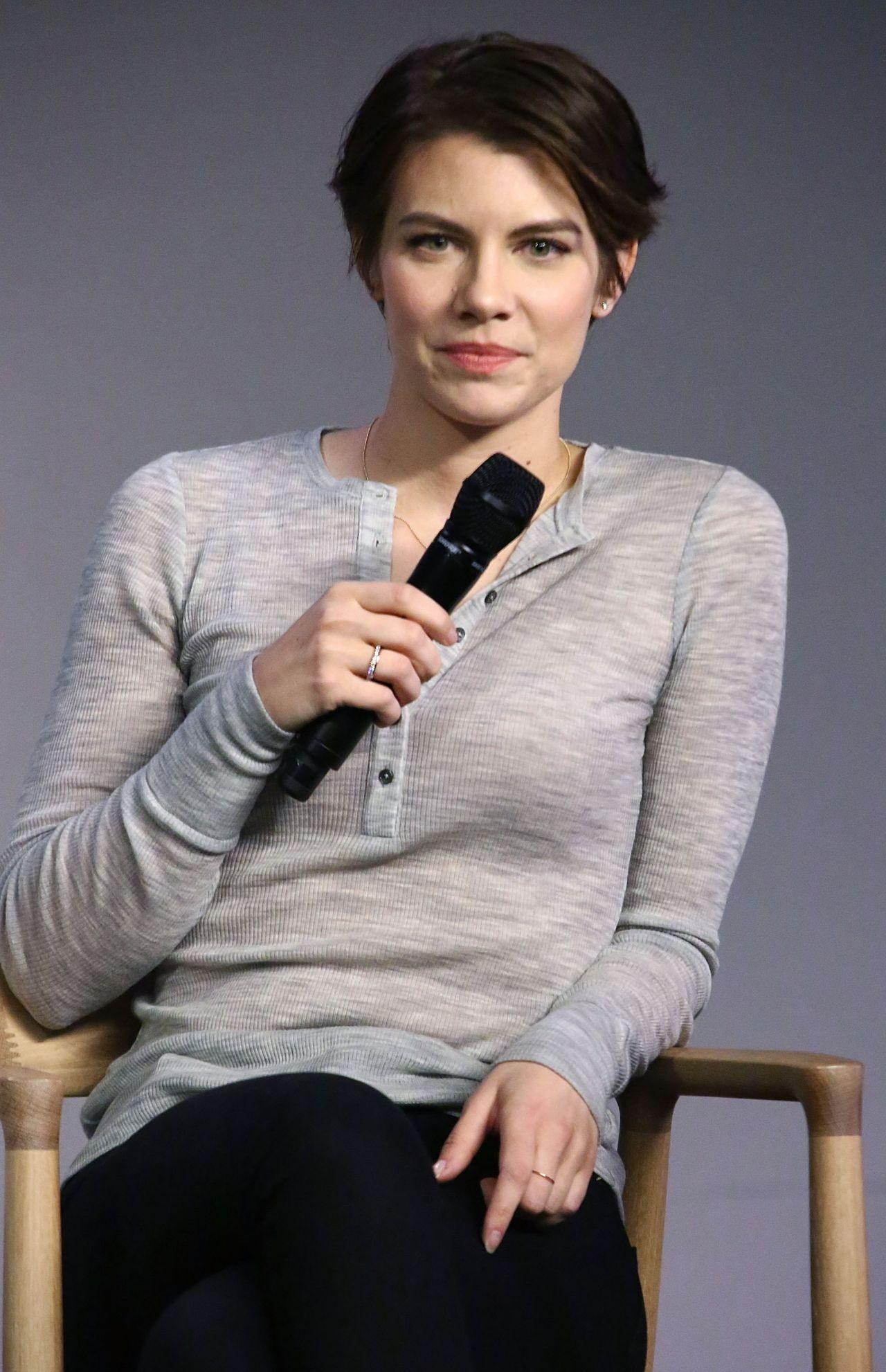 Lauren Cohan Meet The Actor The Walking Dead Apple