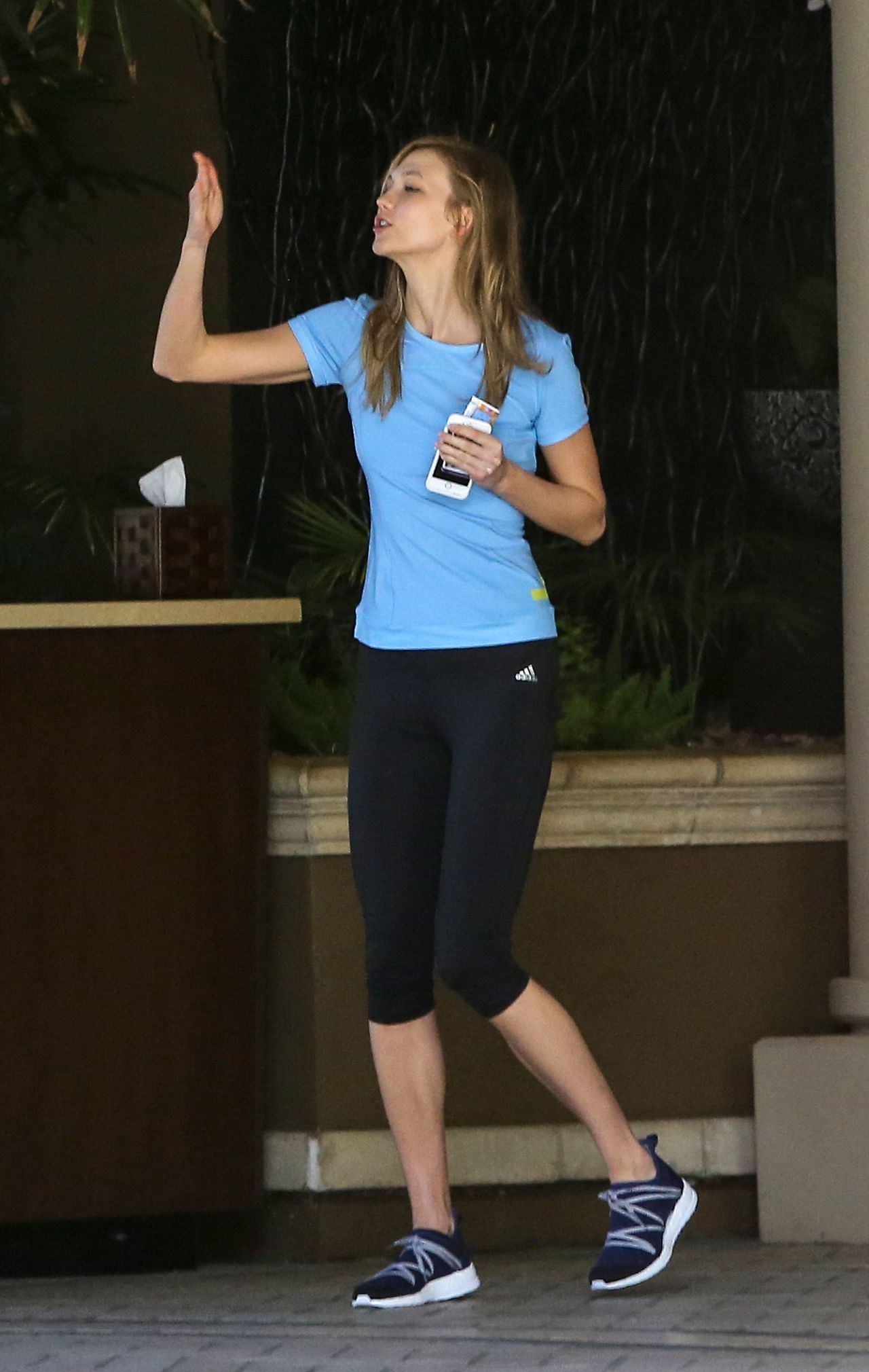 Karlie Kloss And Taylor Swift At The Gym In Beverly Hills