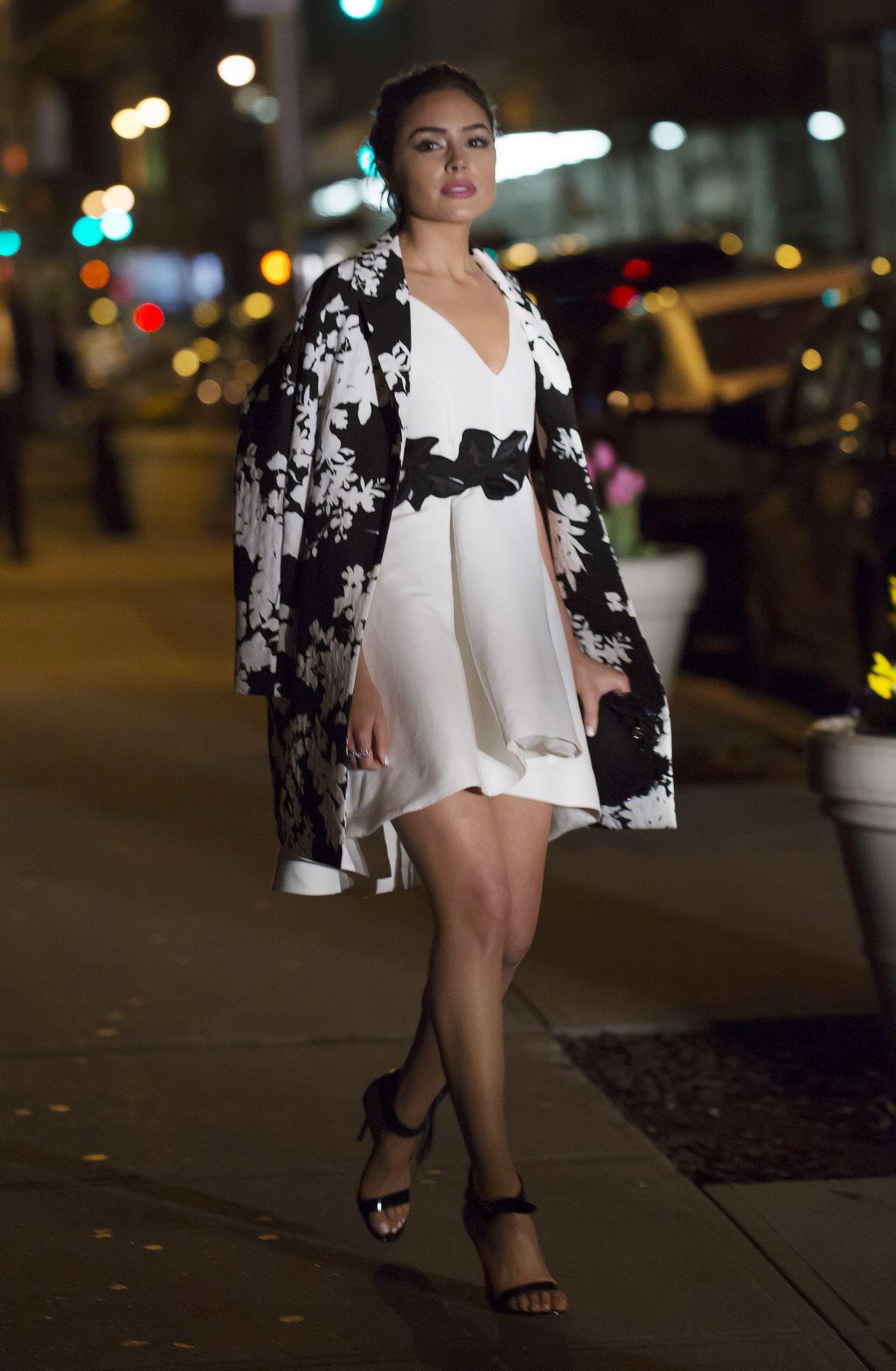 Olivia Culpo Fashion New York City April 2016
