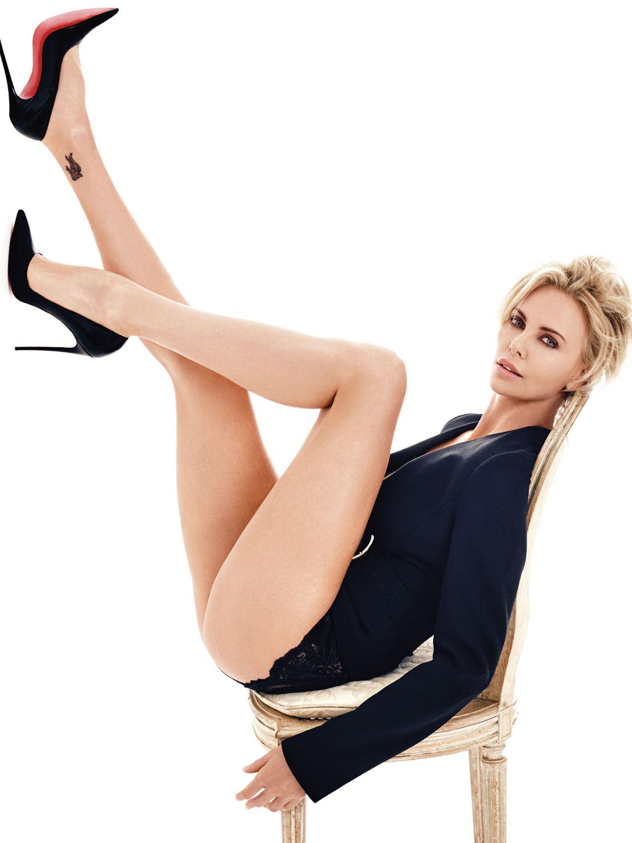 Charlize Theron GQ Magazine UK May 2016 Photos