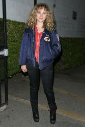 Juno Temple Casual Style - Outside the Arena Cinema in Hollywood 5/8/2016