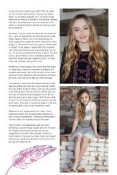 Sabrina Carpenter - Girl Power Magazine June 2016 Issue
