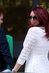 Amy Childs - Outside ITV Studios in London 6/6/2016