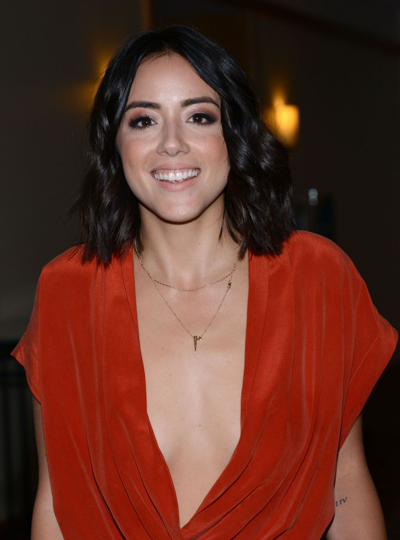 Chloe Bennet Agents Of SHIELD Press Line At