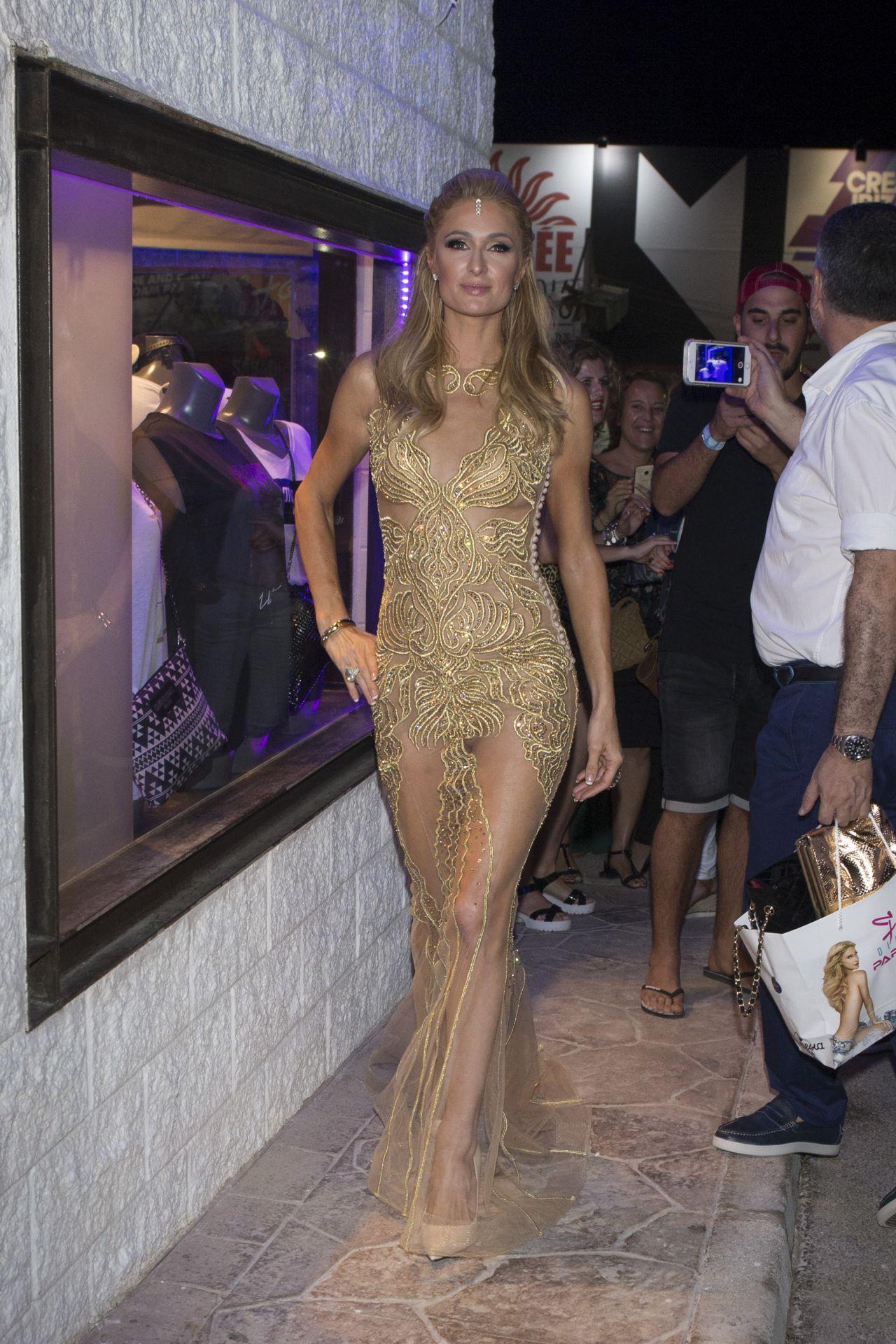 Paris Hilton Foam Amp Diamonds Opening Party In Ibiza 7