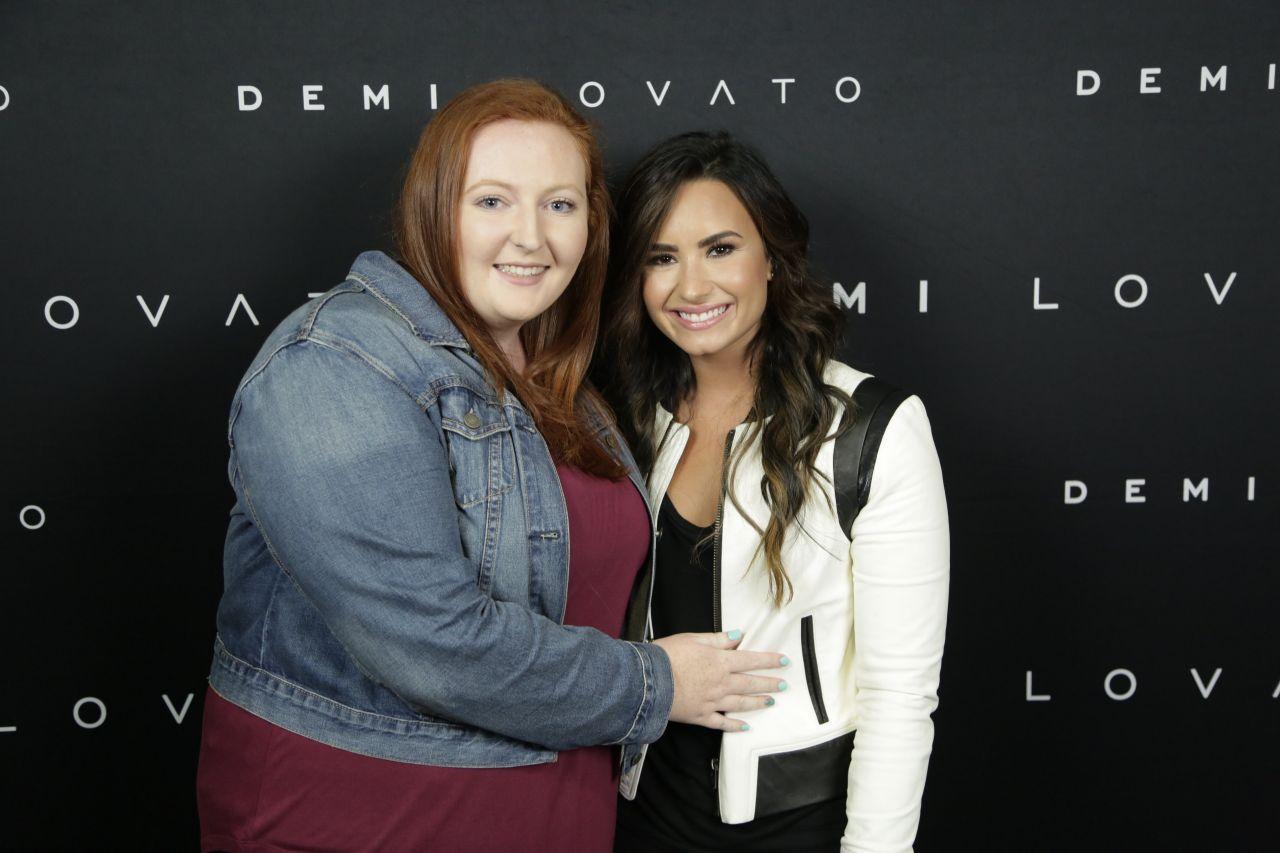 Demi Lovato Meet Greet In Vancouver 8242016 Filmstar