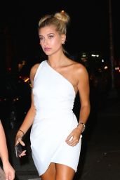 Hailey Baldwin Night Out Style - 1Oak Nightclub in NYC 8/25/2016