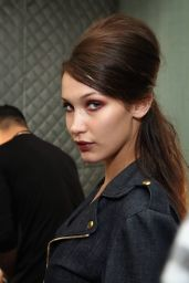Bella Hadid - Anna Sui Fashion Show in New York City 9/14/2016