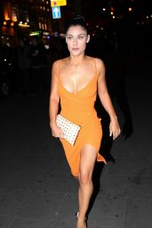 Cally Jane Beech at The ByGeorgiaK Collection Launch At W Hotel In London 9/20/2016