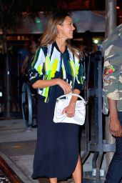 Jessica Alba Night Out Style - NYC 09/12/2016
