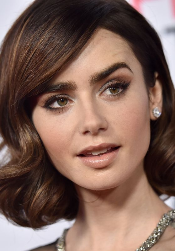 Lily Collins Rules Dont Apply Premiere In Los Angeles