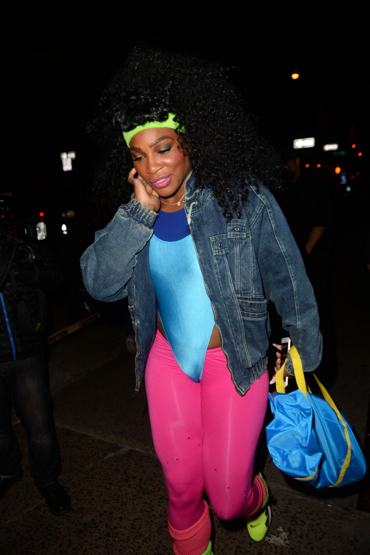 Serena Williams – Arriving at Heidi's Klum Halloween Party in New ...