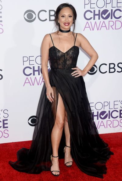 Cheryl Burke – People's Choice Awards in Los Angeles 1/18 ...