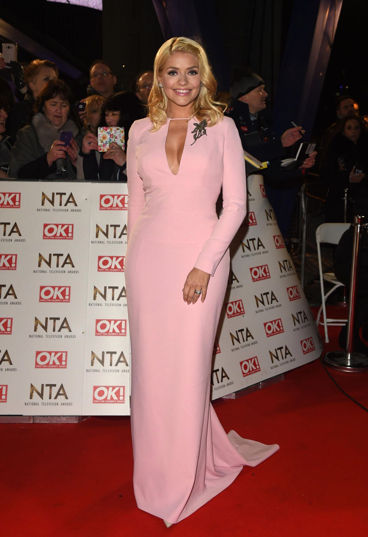 Holly Willoughby National Television Awards In London 1