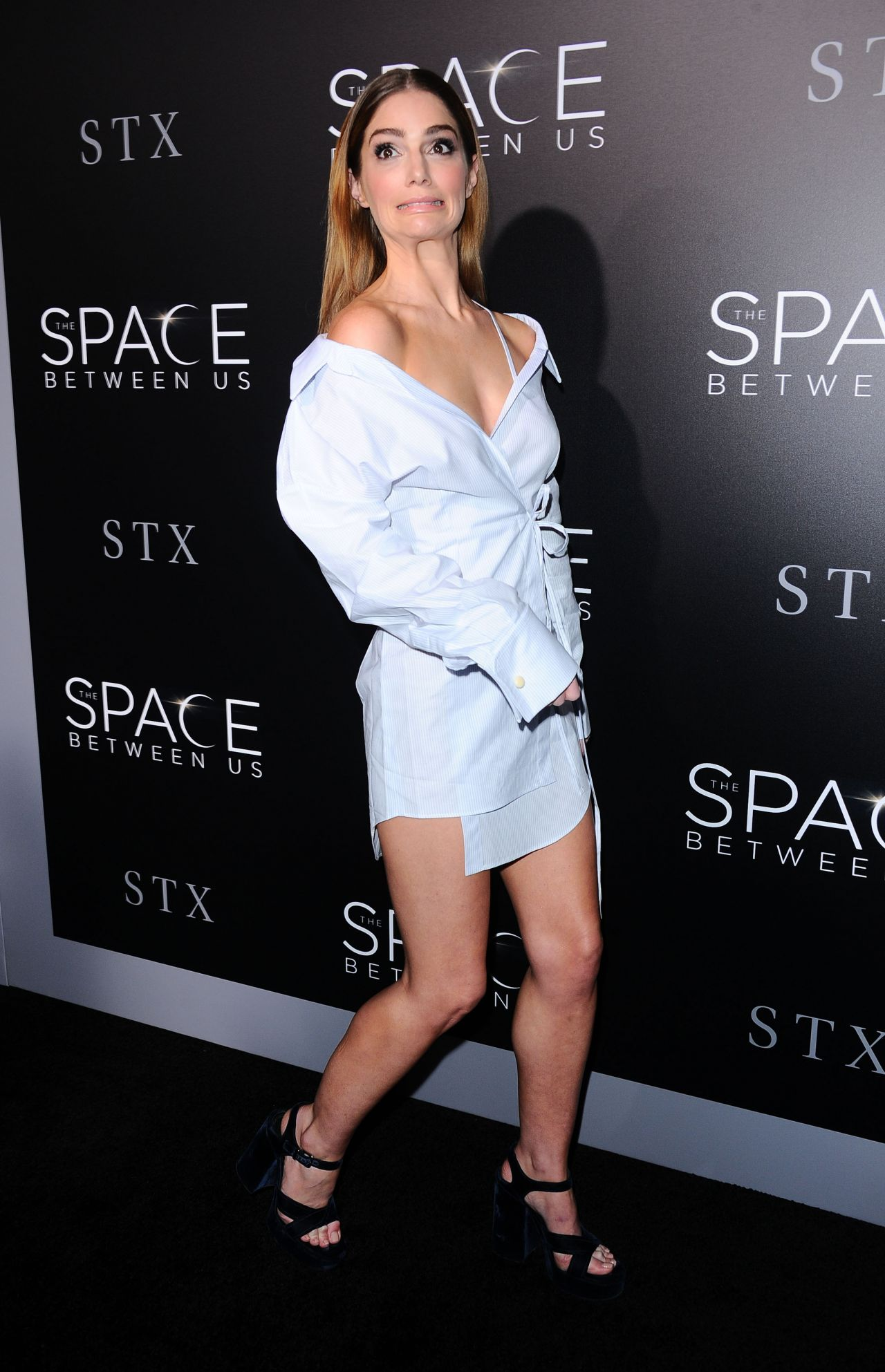 Demi Lovato Janet Montgomery - 'The Space Between Us' Premiere in Los ...