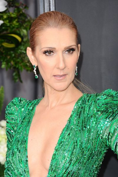Celine Dion on Red Carpet – GRAMMY Awards in Los Angeles 2 ...