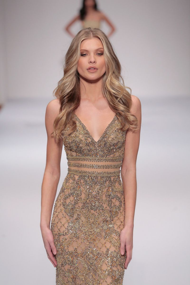 Josie Canseco Sherri Hill Fashion Show In New York City