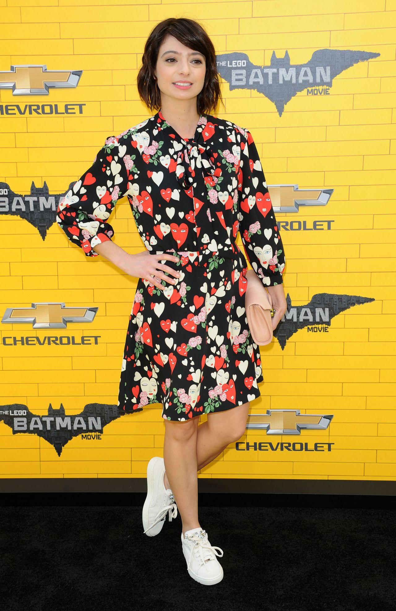 Kate Micucci The LEGO Batman Movie Premiere In Los
