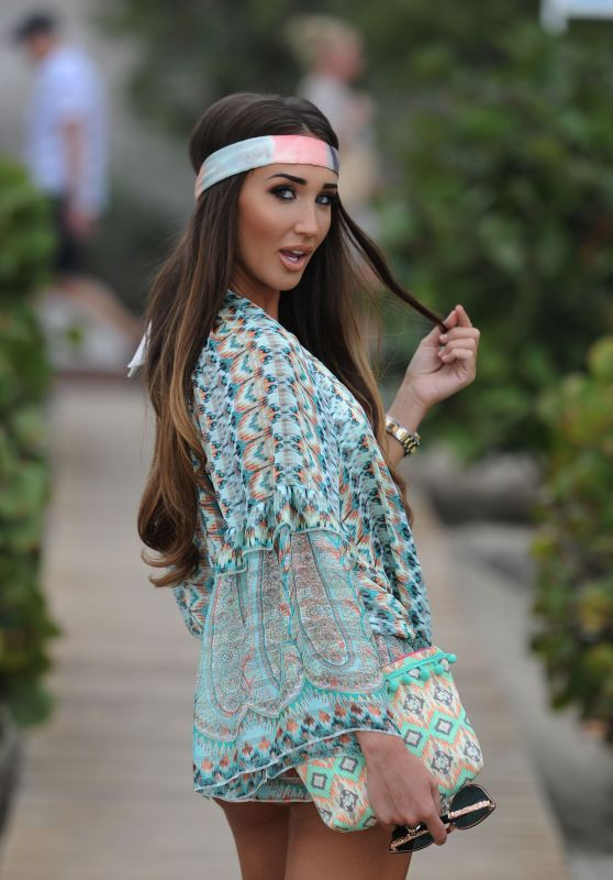 Megan Mckenna in Tenerife 2/1/ 2017